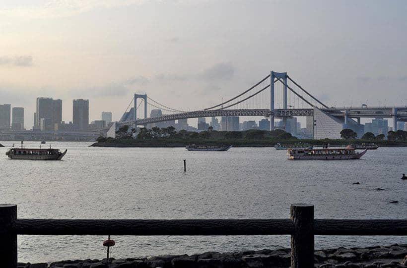 Tokyo Bay at Dusk